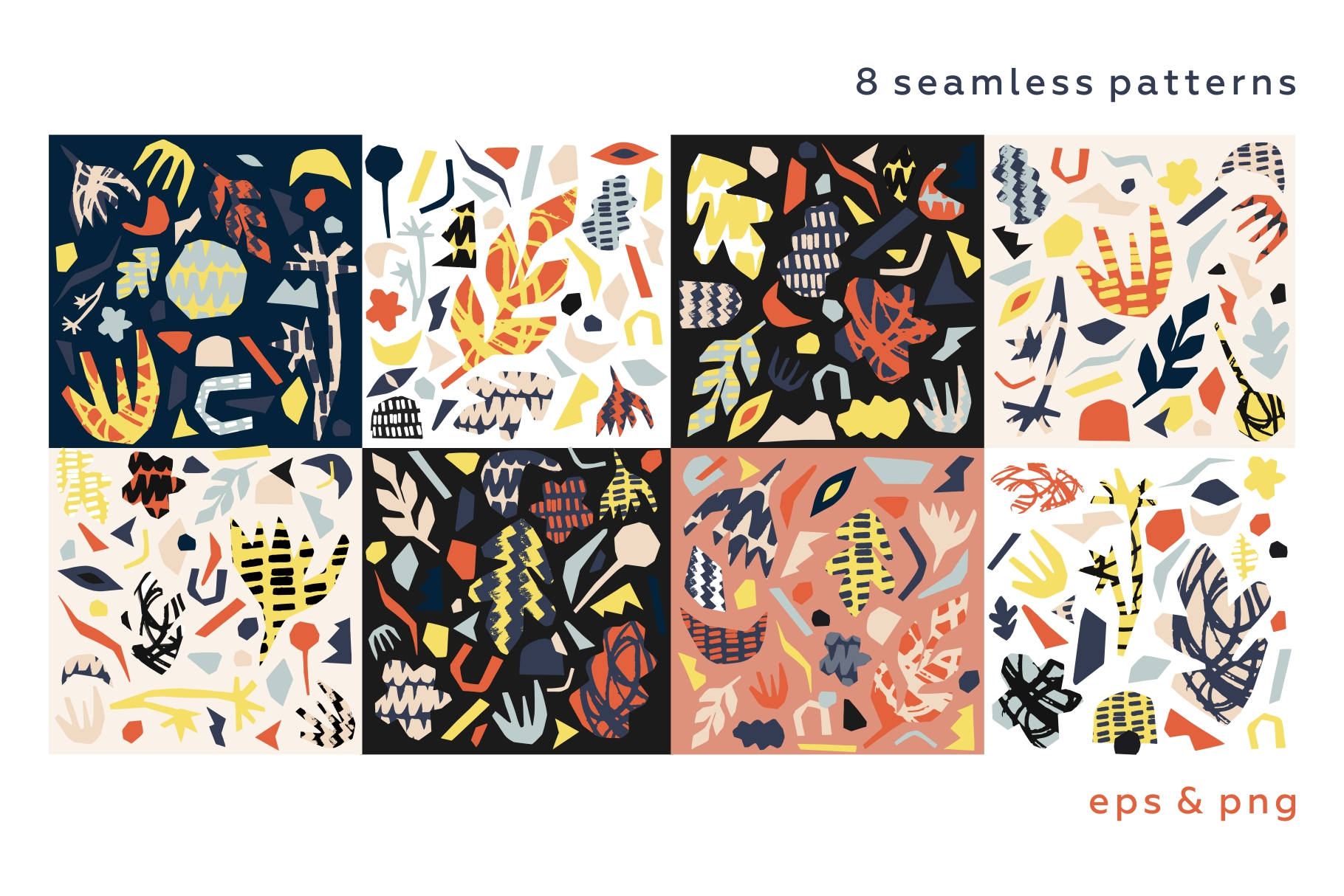 Madness cutouts. Patterns & shapes. example image 8