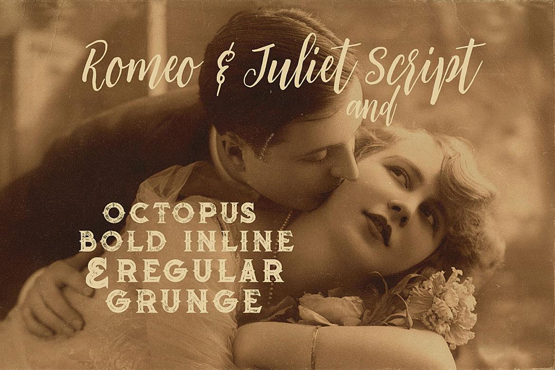 Romeo & Juliet Font Duo example image 2