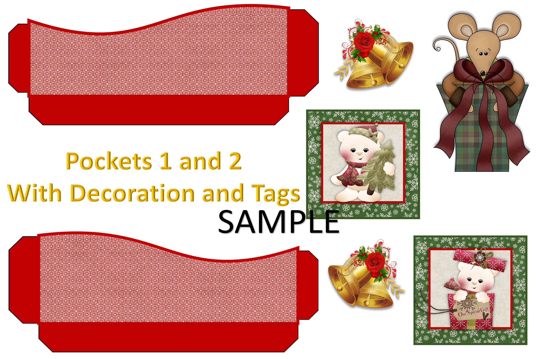 Children's Christmas Journal Kit with Free Ephemera example image 8
