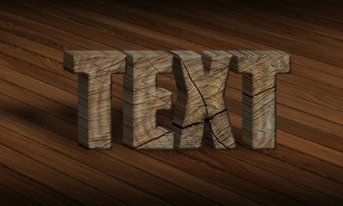 3D Wood Text Styles Kit for Photoshop example image 4