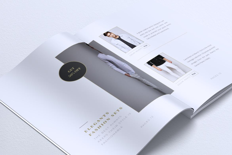 MEDUSA Minimal Lookbook Magazines example image 15