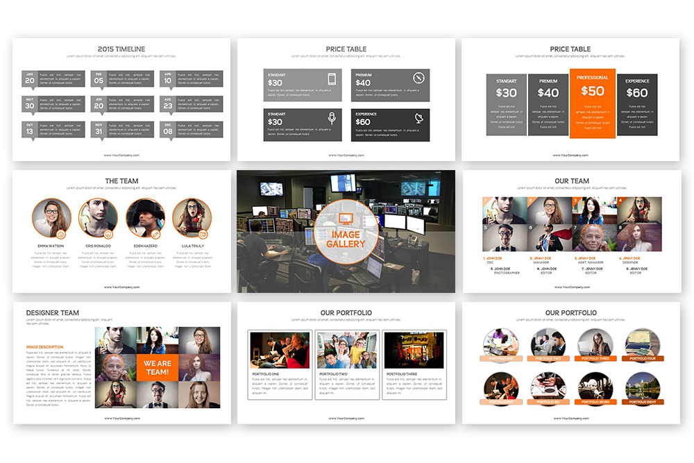 Grand PowerPoint Template example image 4