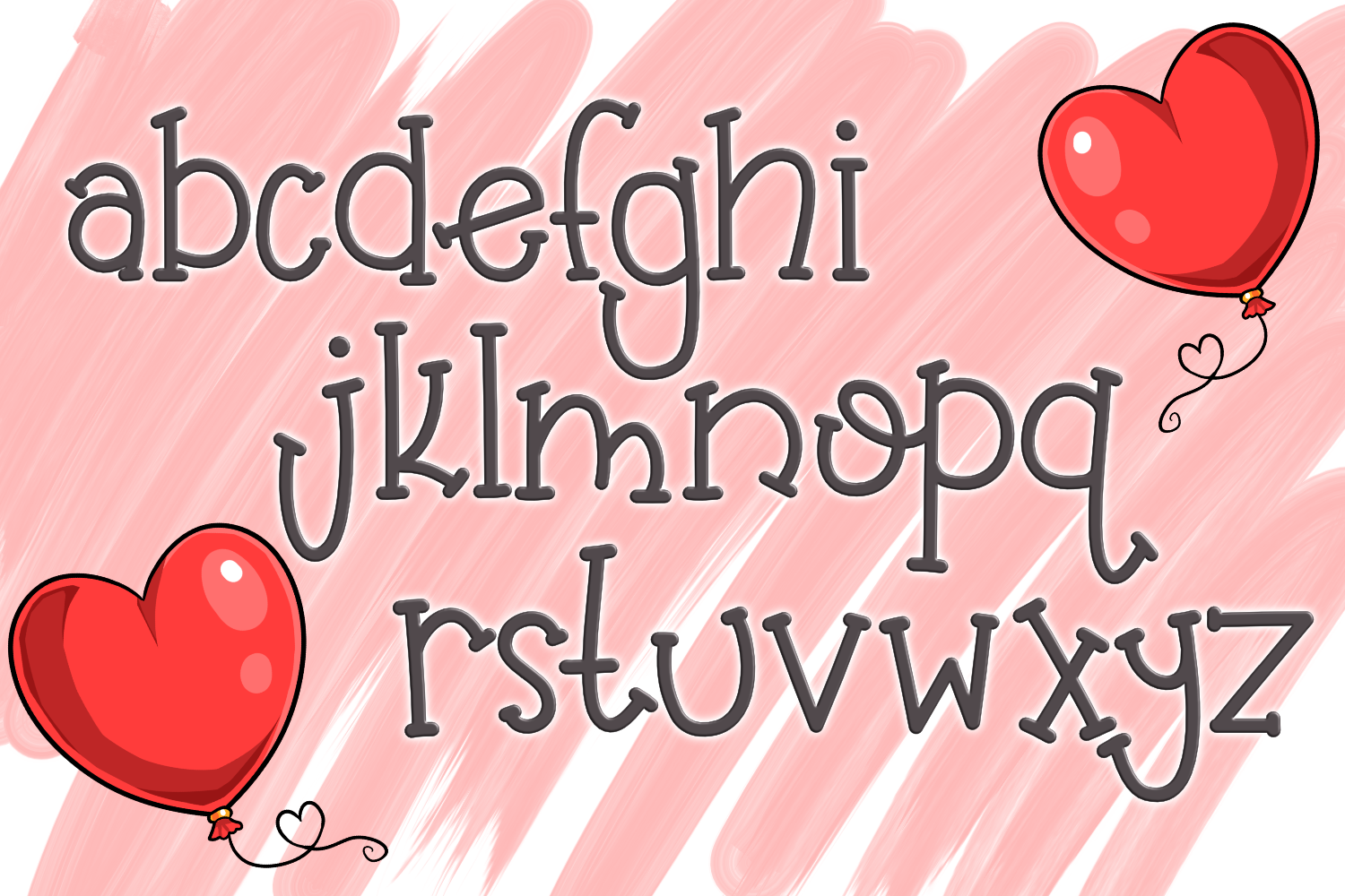 Balloon Butt Font example image 3