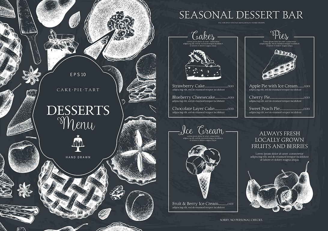 Sweet Bakery Menu example image 3