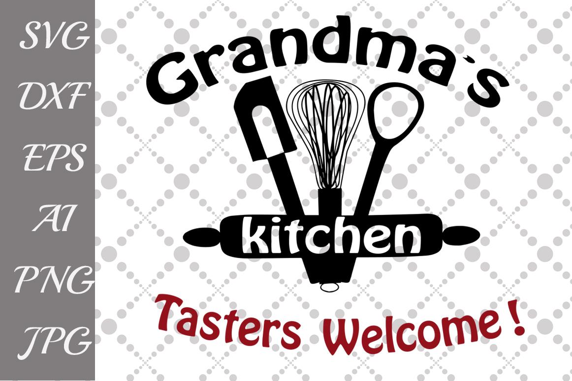 Grandma's Kitchen Svg example image 1