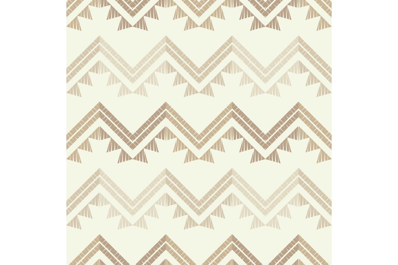 Ethnic boho ornament. Zigzag. Set of 10 seamless patterns. example image 6