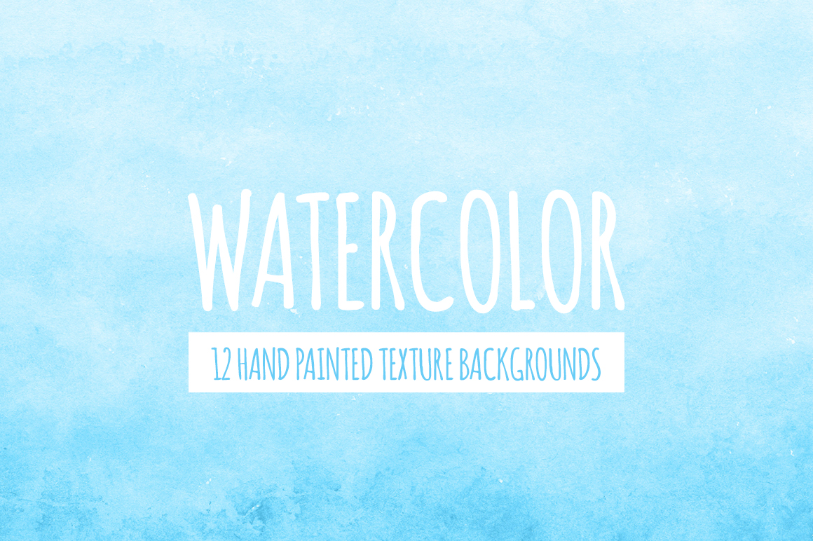 Watercolor Texture Bundle + Bonus example image 4