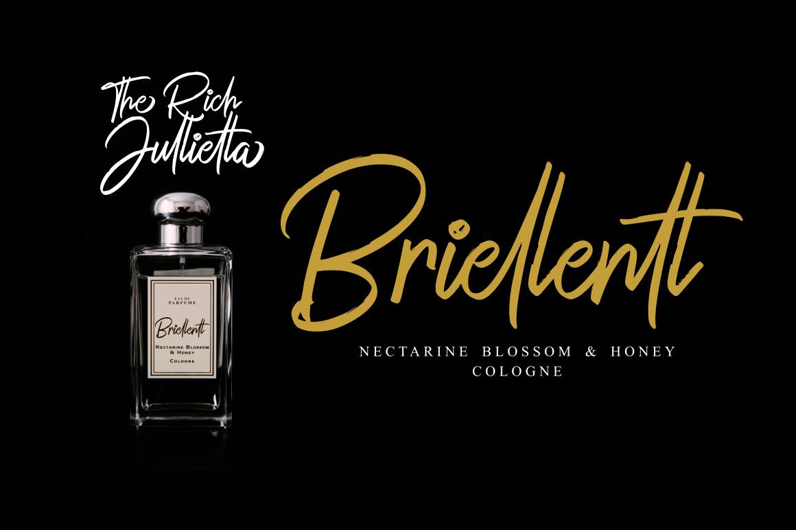 The Rich Jullietta Elegant Script Font example image 8