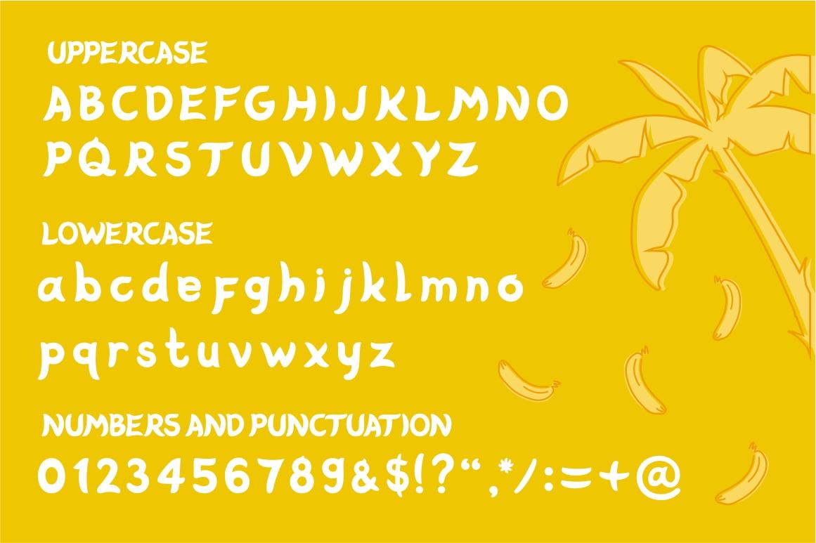 Banabo - Banana Font example image 2