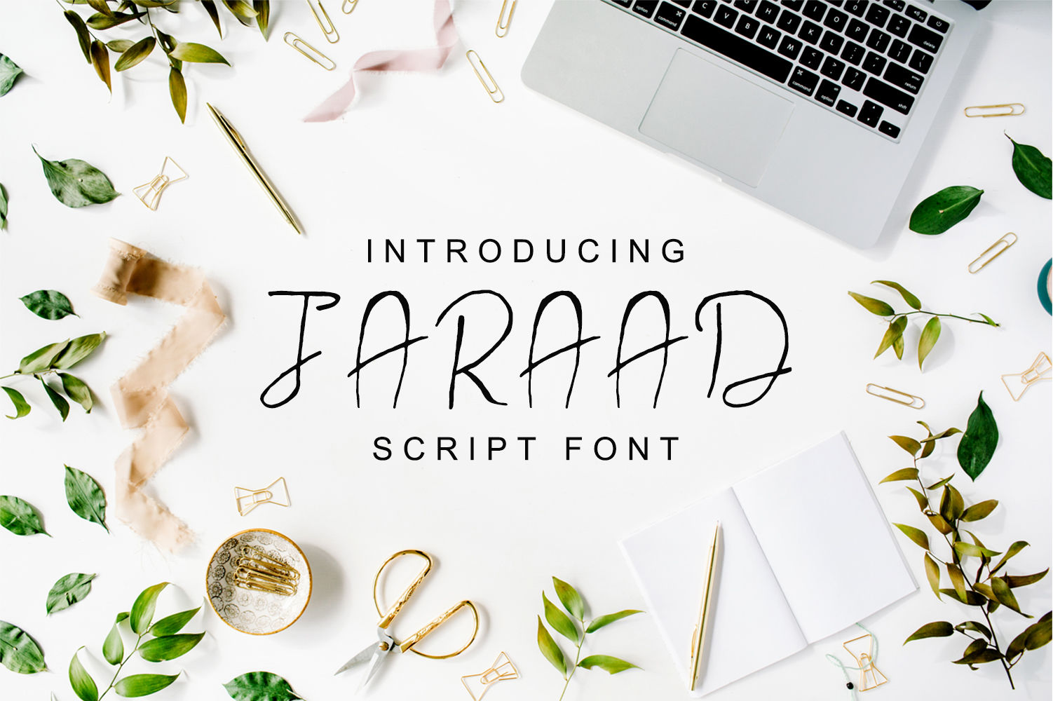Jaraad Script Typeface example image 1