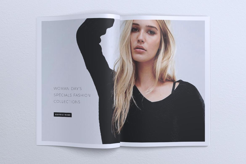 MEDUSA Minimal Lookbook Magazines example image 10