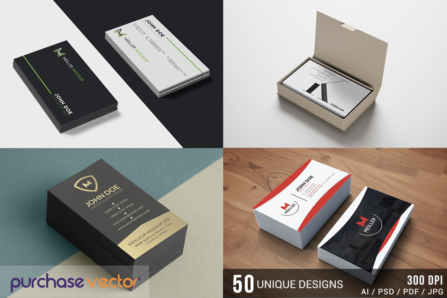 Professional Business Cards Templates example image 6