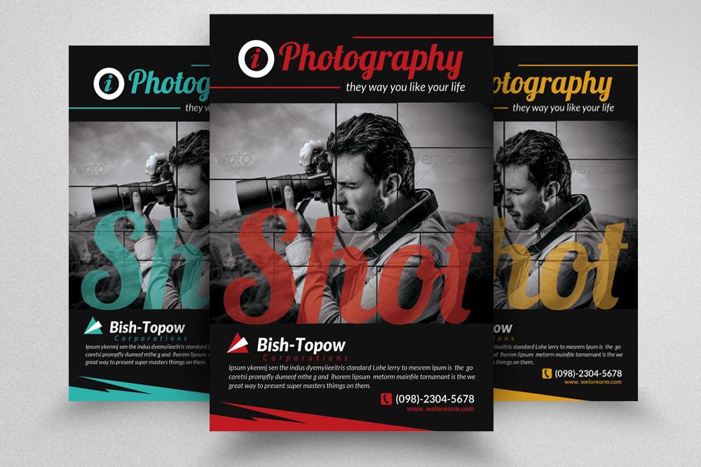 6 Photography Business Flyers Bundle example image 5