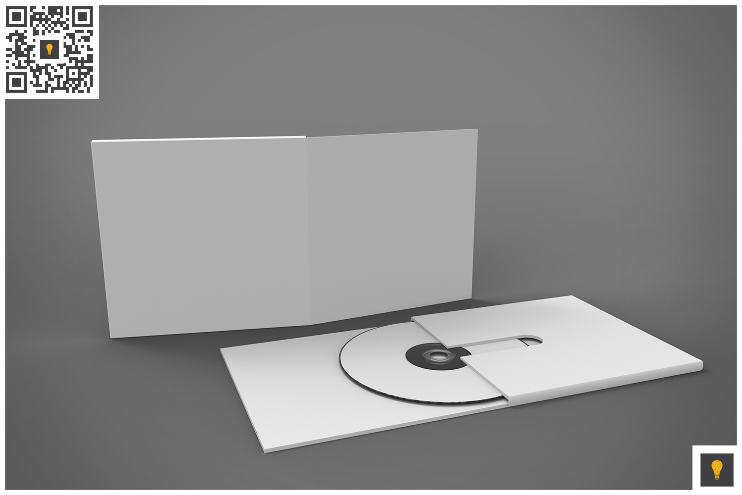Branding Stationary 3D Render example image 10