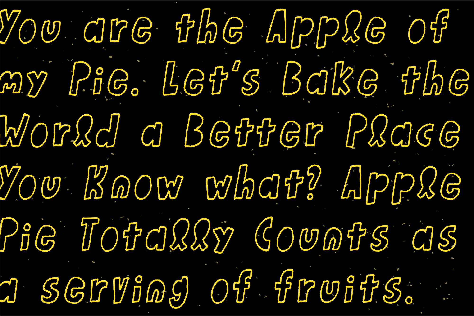 Honey Apple example image 3