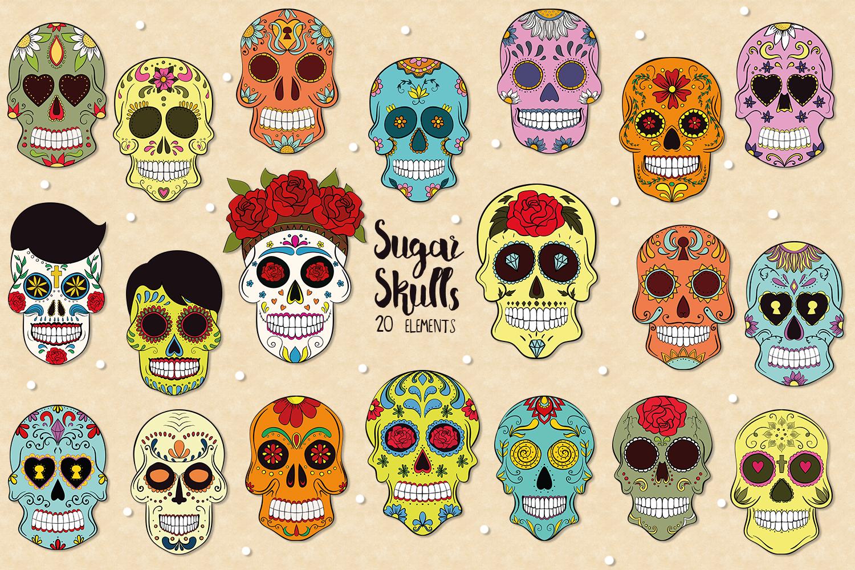 Sugar Skulls example image 1