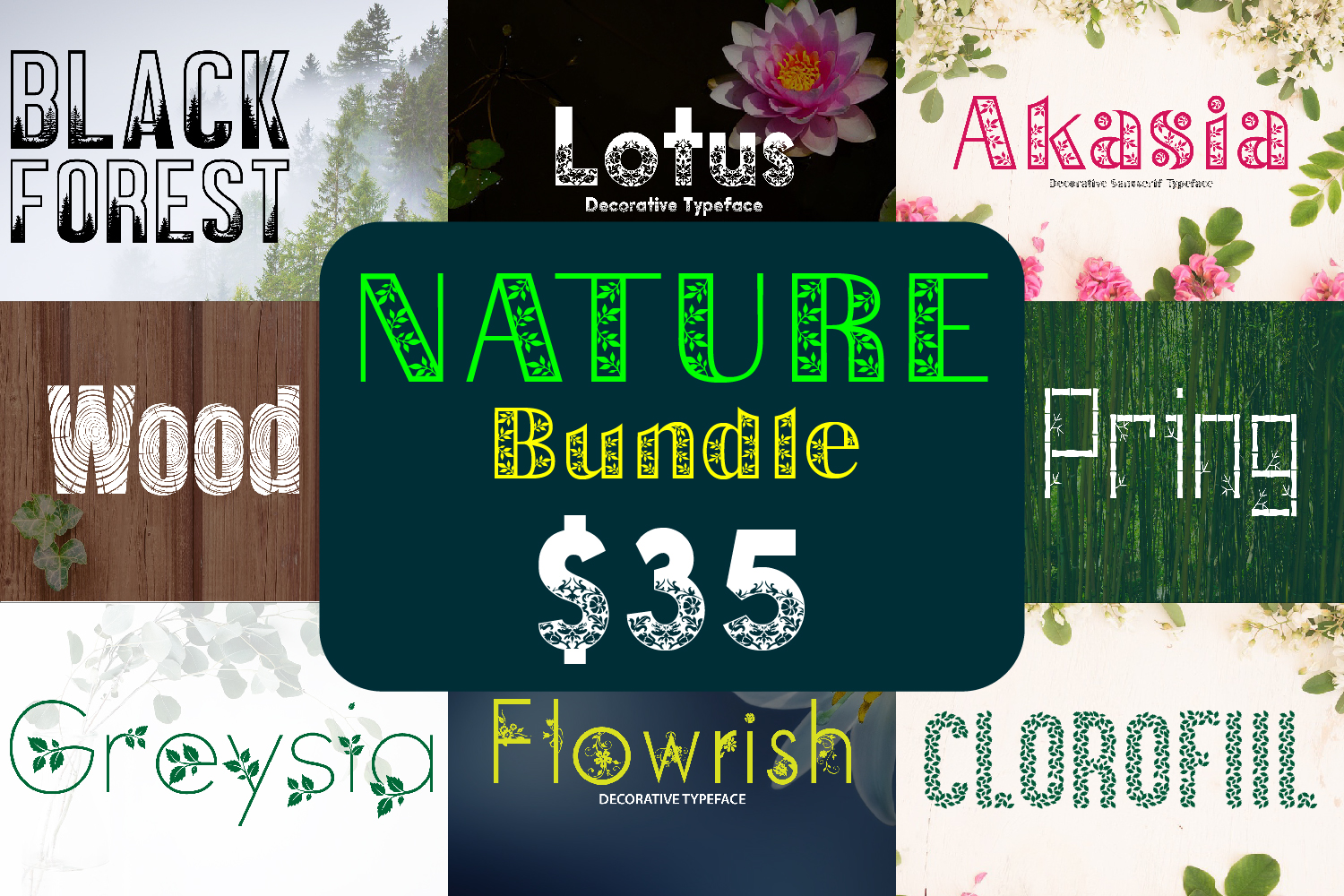 Nature Bundle example image 1