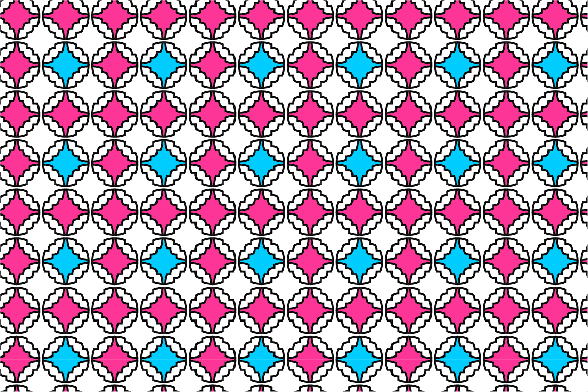 Colorful ornamental patterns. example image 11