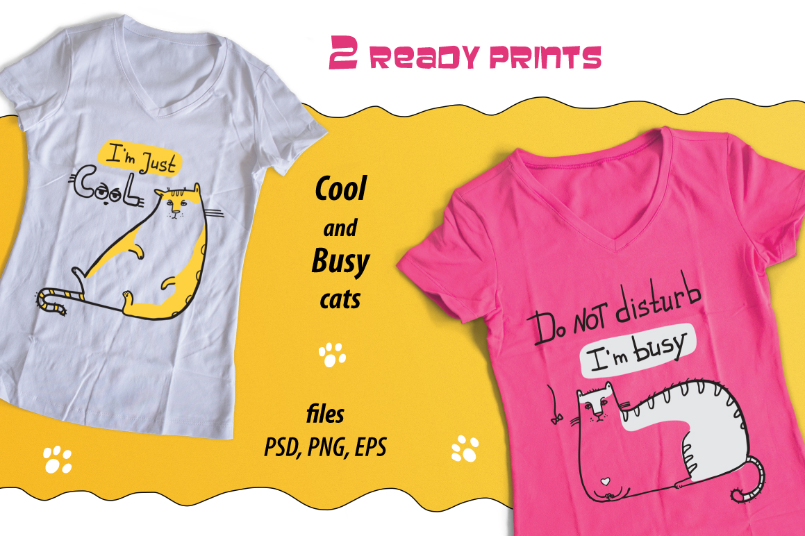 Cool Cat collection patterns, prints example image 4