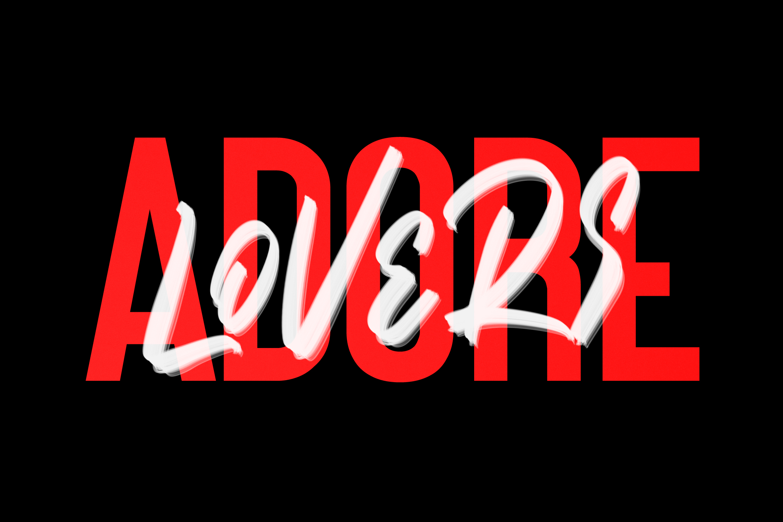 Mathew Rohas Brush Font Duo example image 5