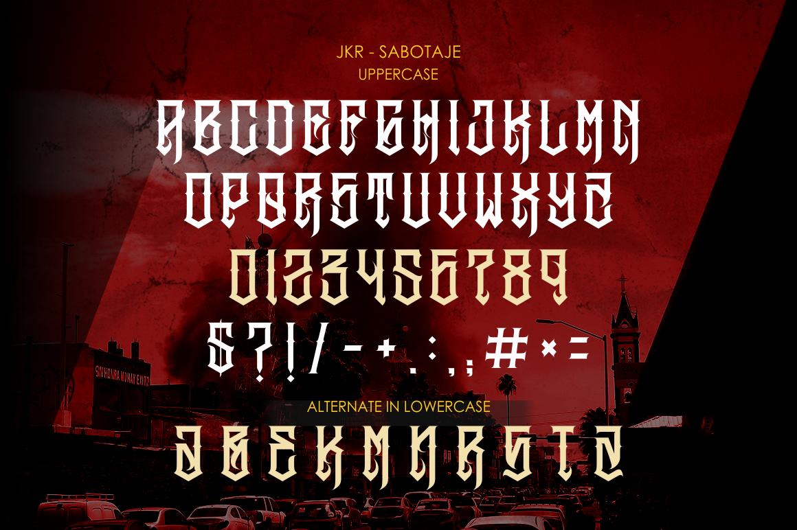 SABOTAJE example image 2