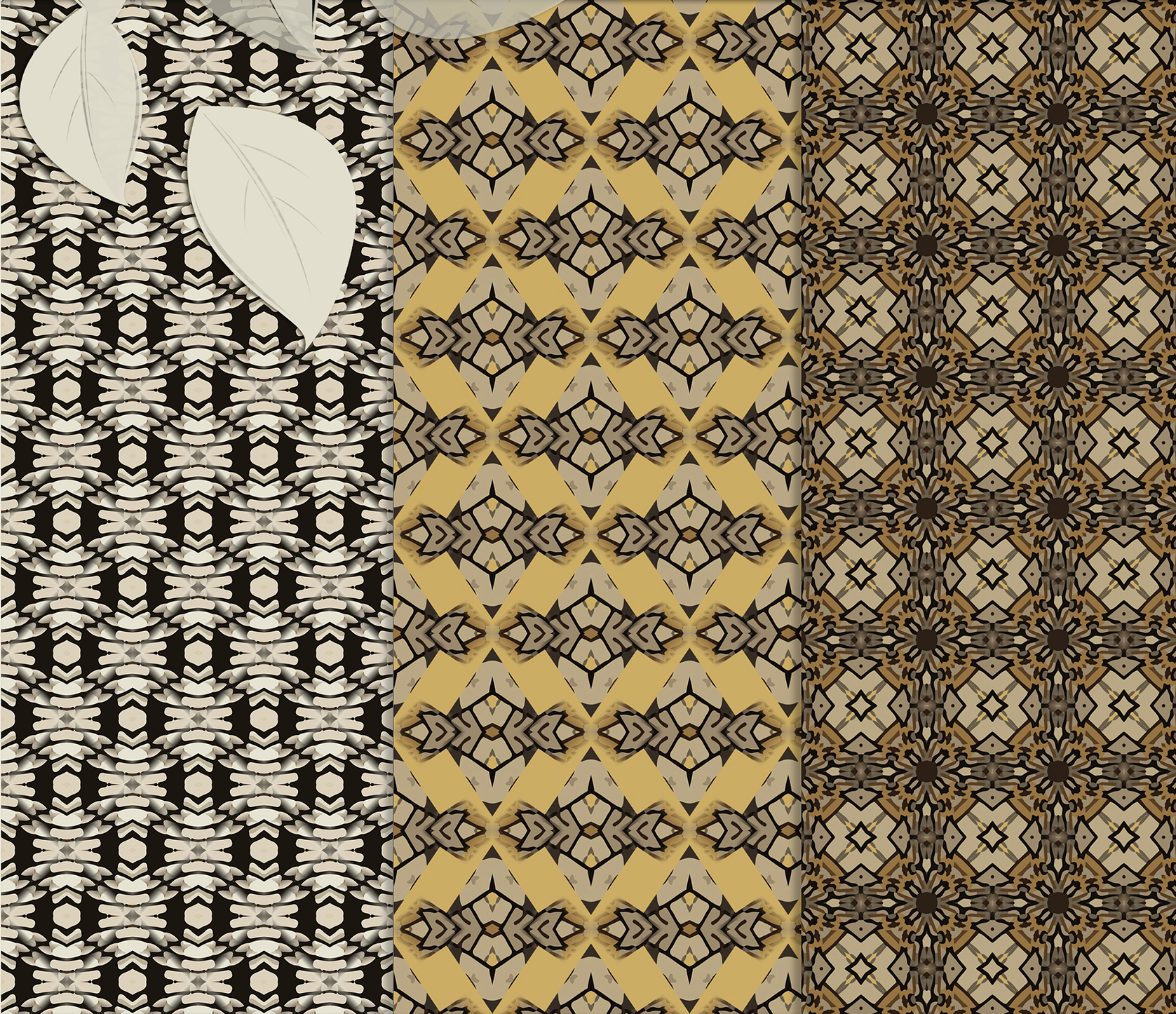 Sand-gray abstract and geometrical masculine Scrapbook Paper example image 5