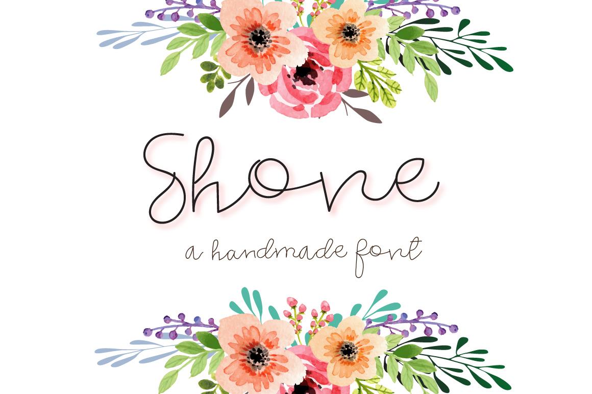 Shone - Signature script example image 1