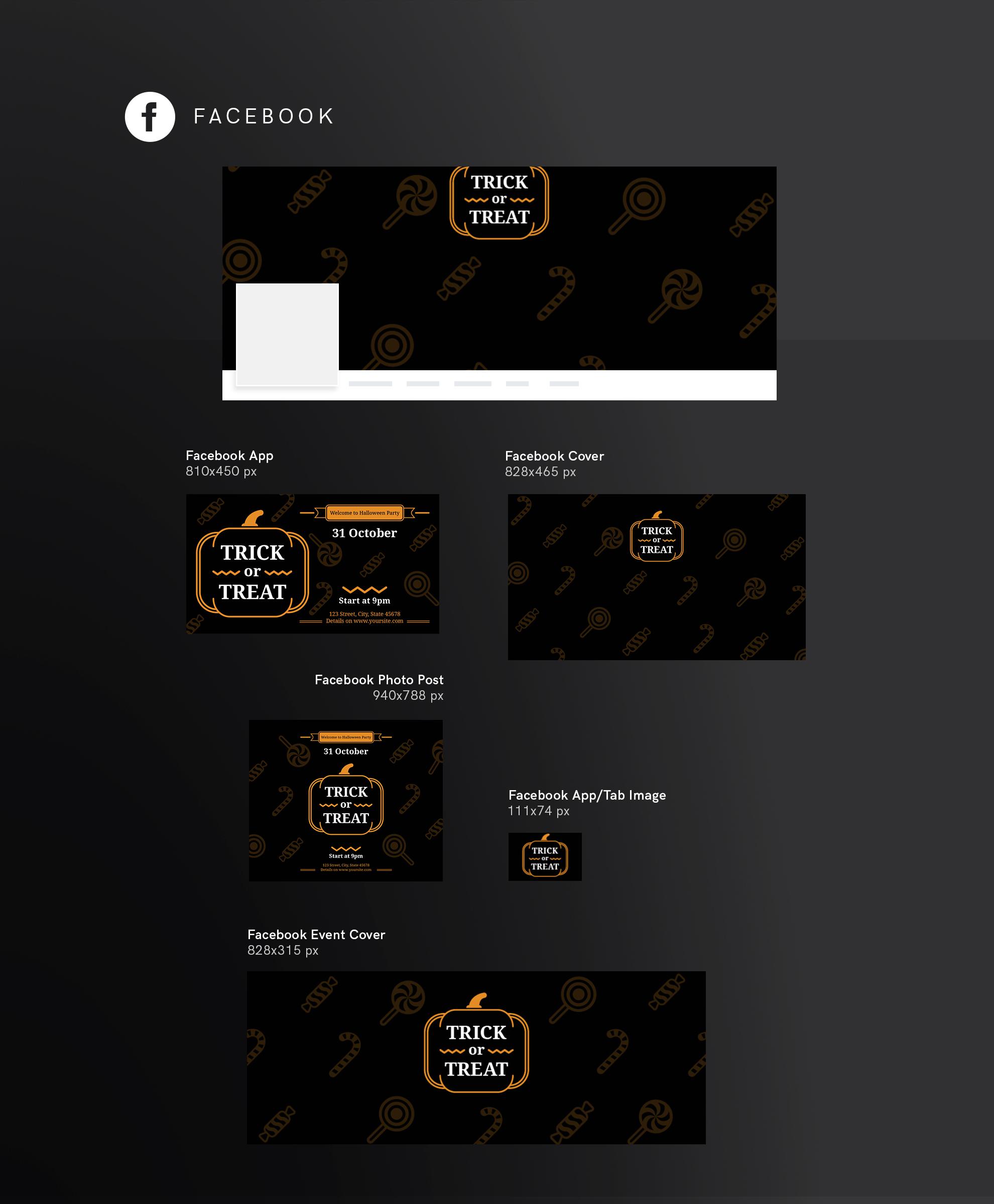Halloween Party Design Templates Bundle example image 9