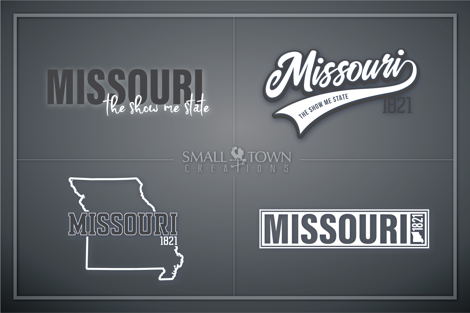 Missouri, State, The show me state, PRINT, CUT & DESIGN example image 1