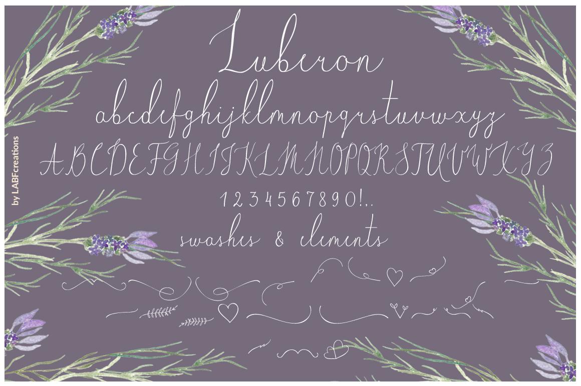 Luberon. Fine art script example image 8