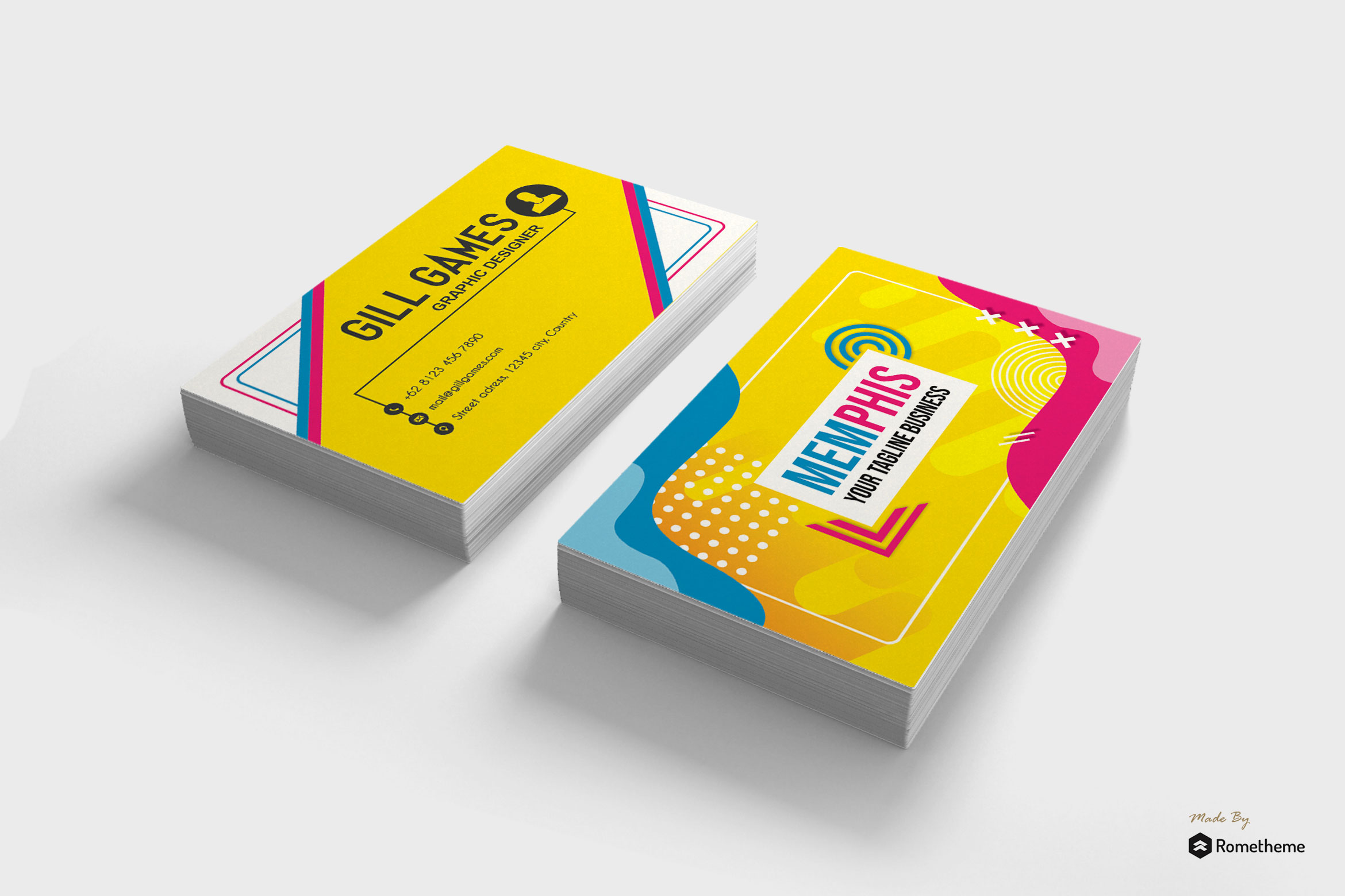 Business Card vol. 19 example image 1