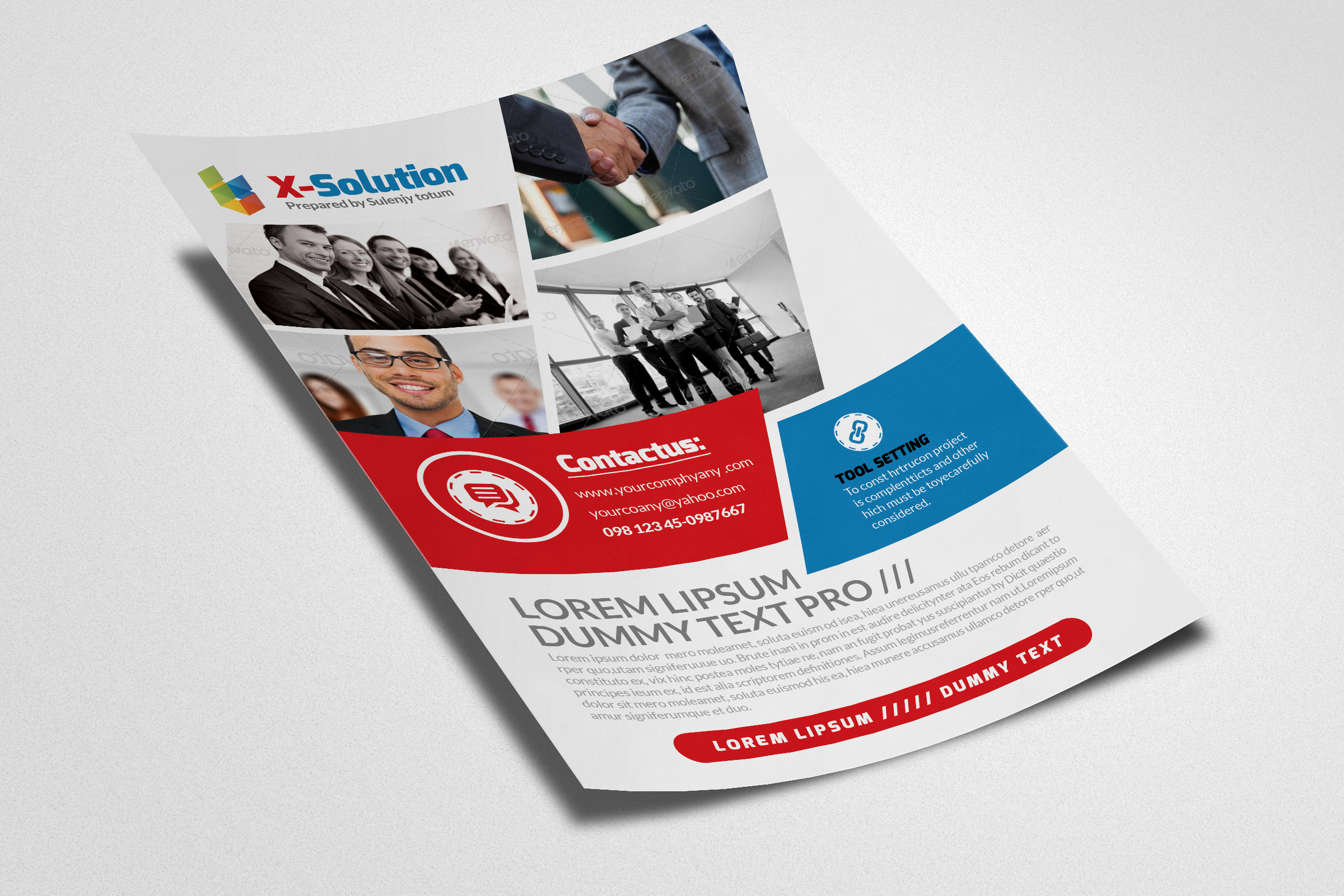 Corporation Business Flyer example image 2