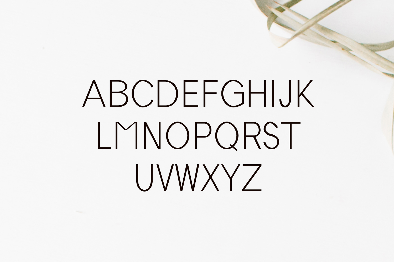 Tabner Sans Serif Typeface example image 2