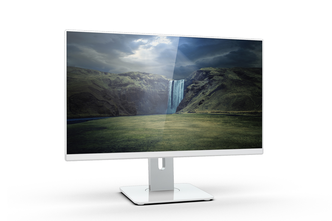Monitor U2414h Mockup example image 9