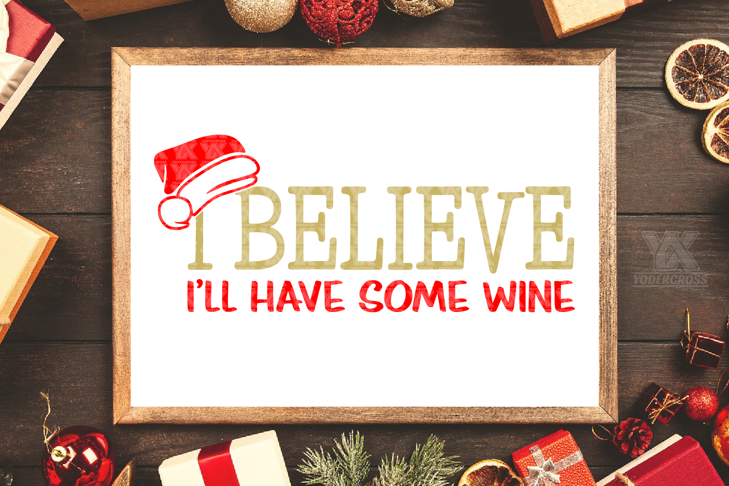I Believe I'll Have Some Wine SVG example image 5