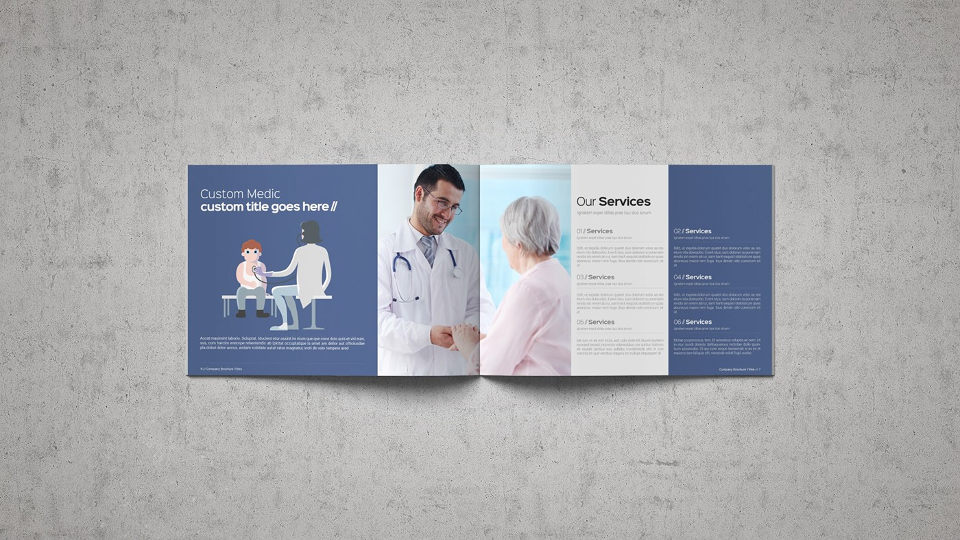 Health & Care Brochure Template example image 14