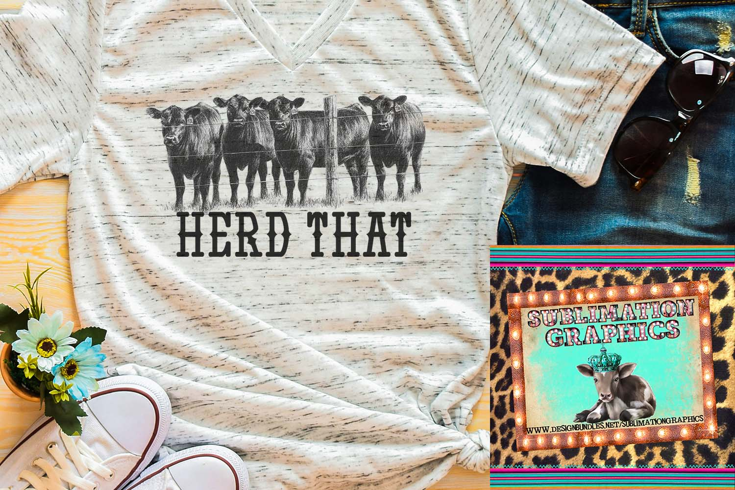 Herd That Sublimation Download example image 1