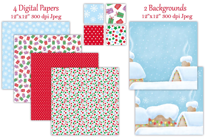 Christmas clipart, Christmas graphics & illustrations, Santa example image 3