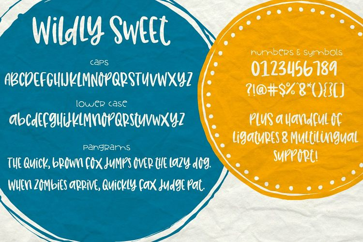 Totally Sweet Font Bundle example image 16