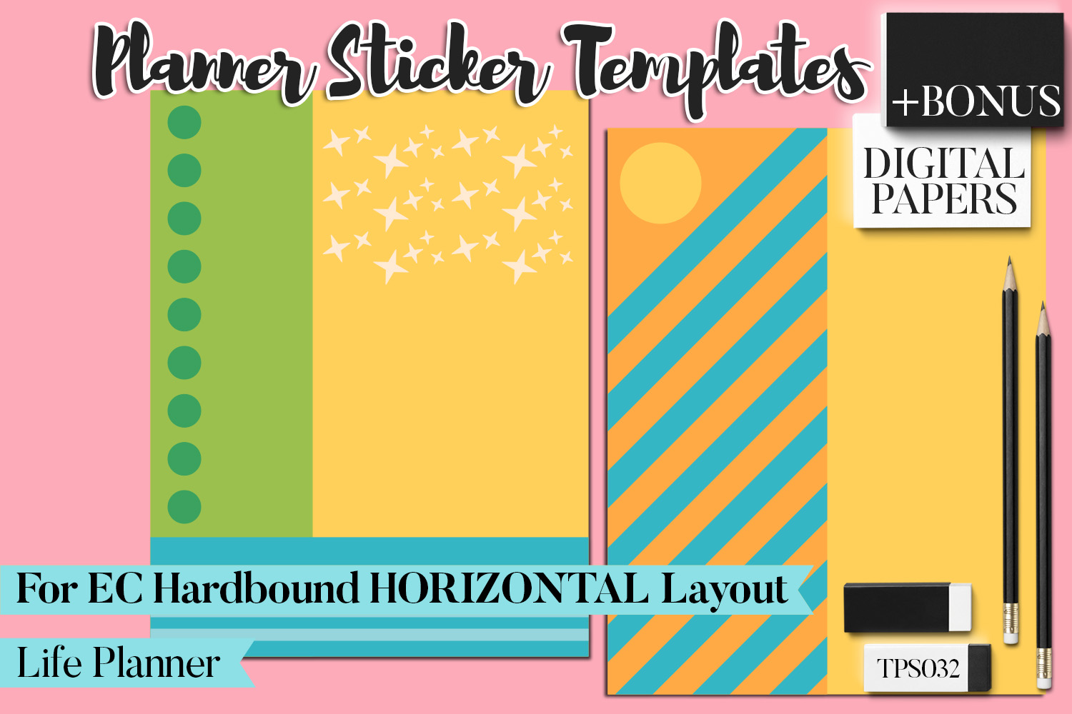 Planner Stickers Templates - Bundle Vol. 11 example image 12