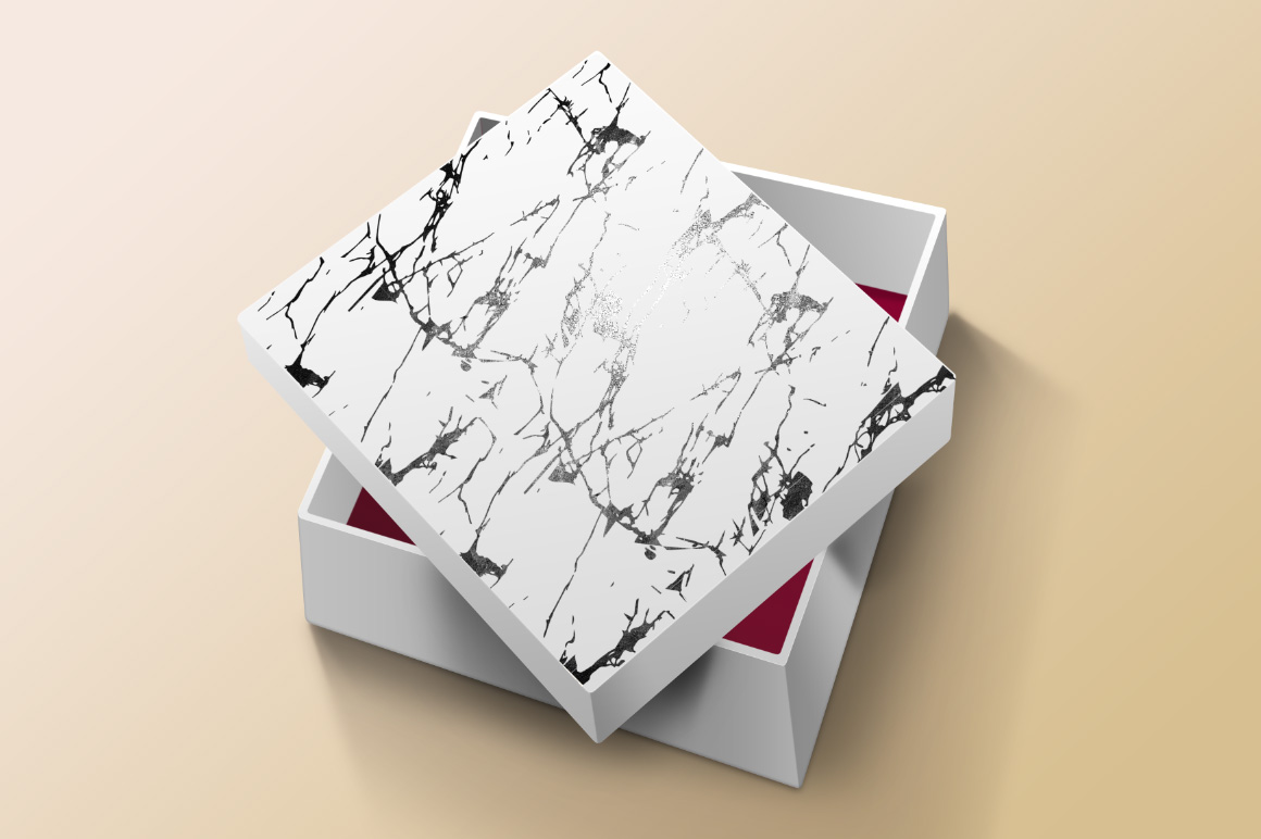 Marble Seamless Vector Patterns - 1 example image 5