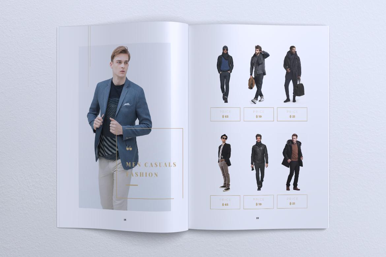 NEBULA Minimal Lookbook Magazine Styles example image 12