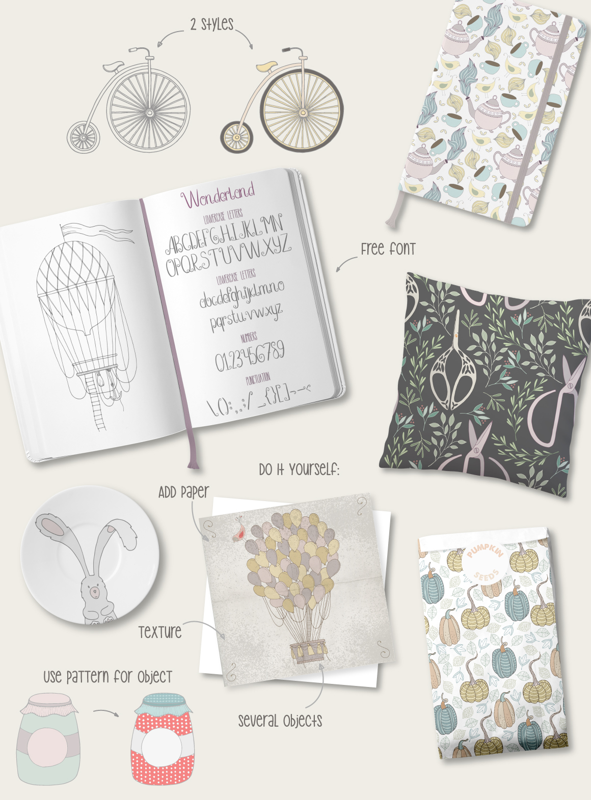 Wonderland Collection example image 3