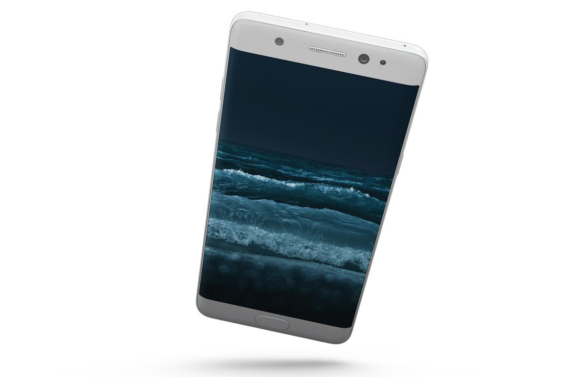 Samsung Galaxy Note 7 Gravity Mockup example image 8