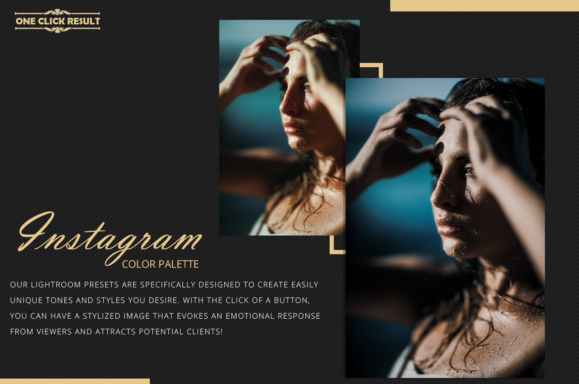Instagram color grading lightroom presets theme example image 8