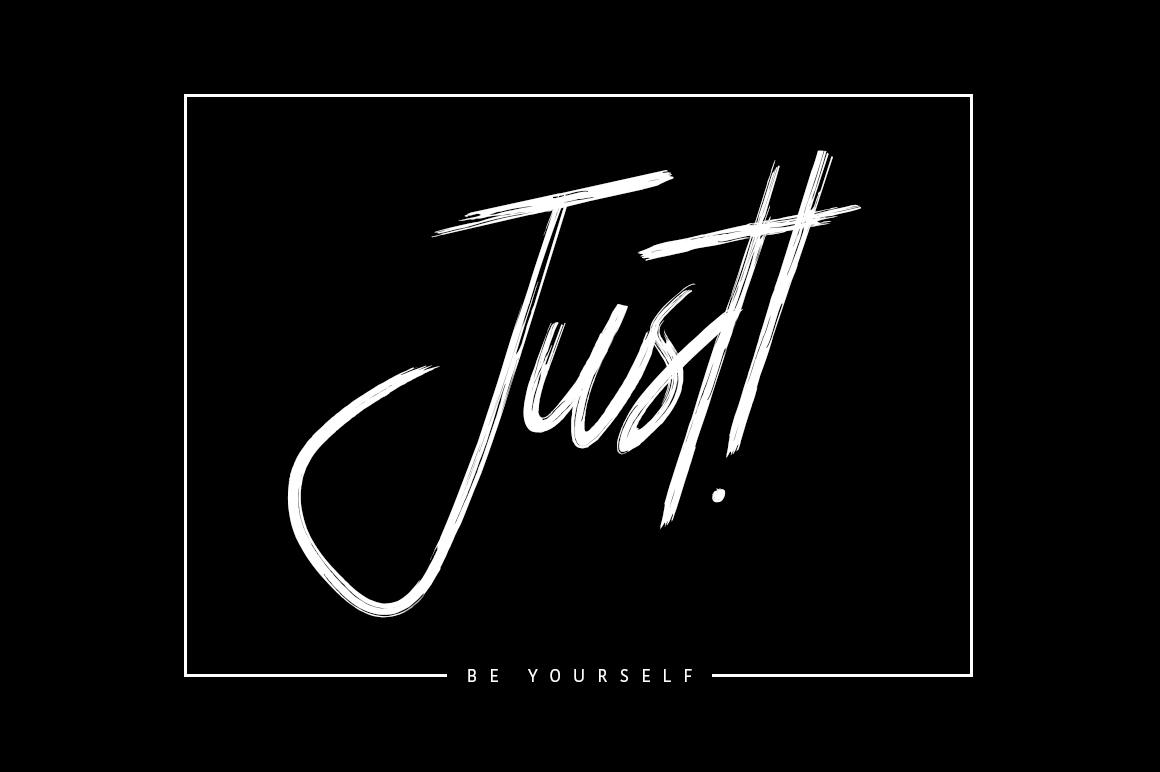 Boostpest Signature Brush Font example image 4