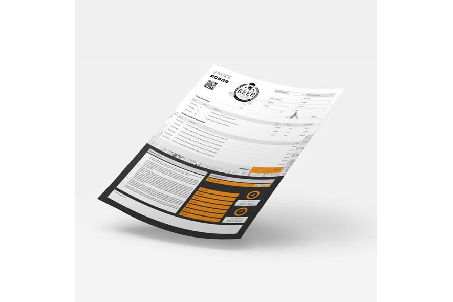 A4 Invoice Template example image 6