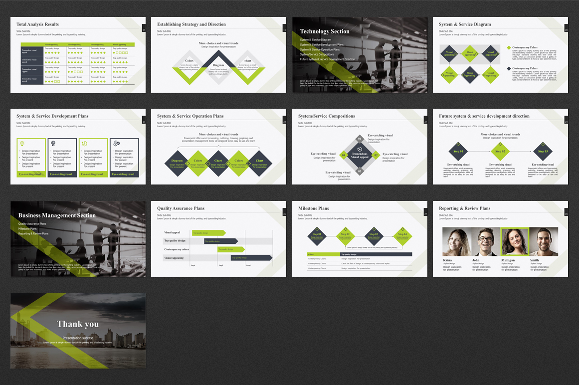 Line PPT Strategy example image 3