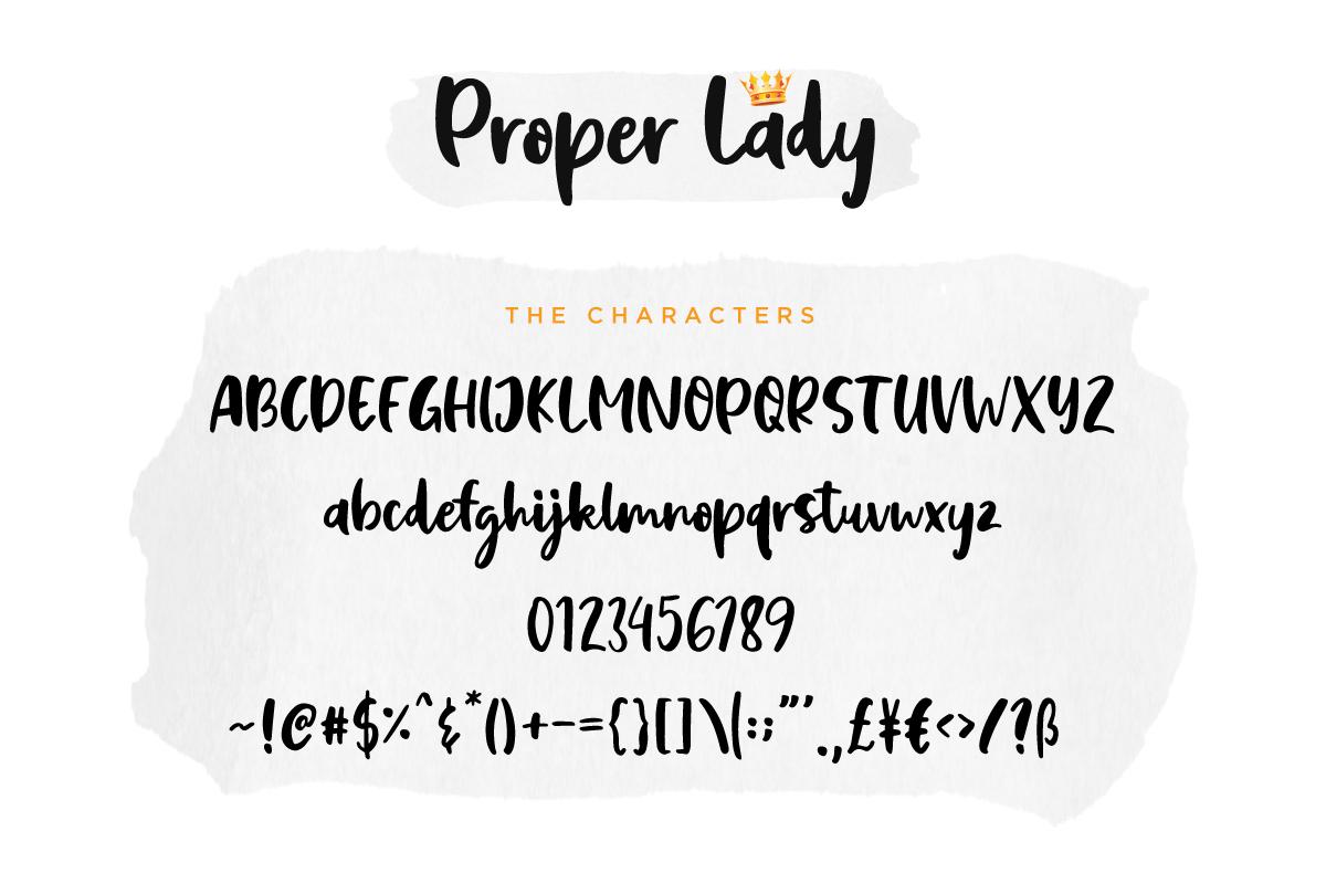 Proper Lady example image 5