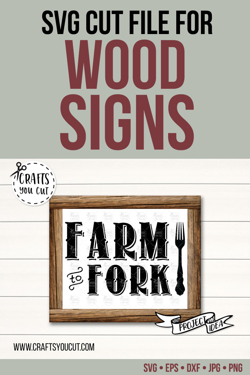 Farm To Fork - A Farmhouse Kitchen SVG Cut File example image 2